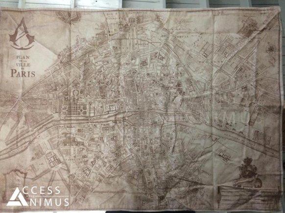 Mapa Assassins Creed Unity