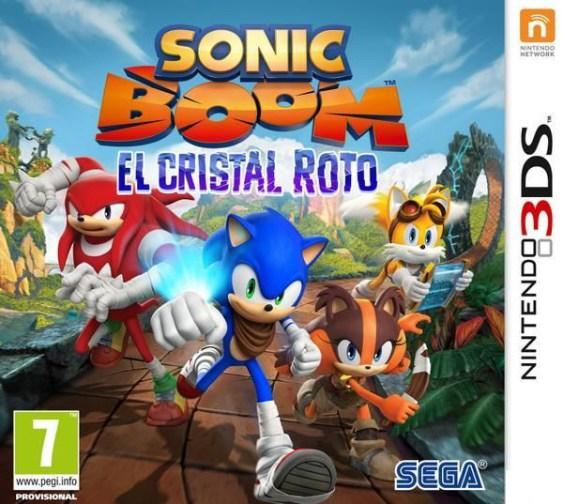 Sonic Boom Cristal Roto
