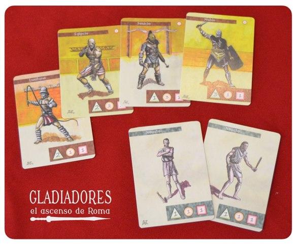 Gladiadores cartas