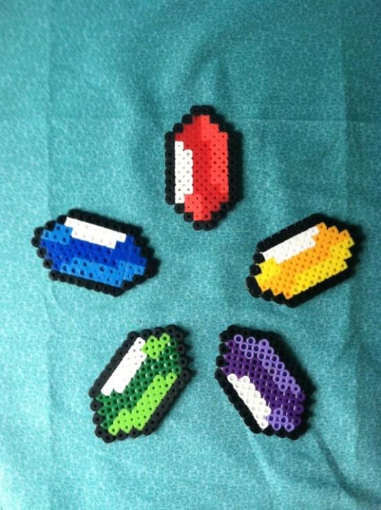 Hama Beads Perlas Zelda