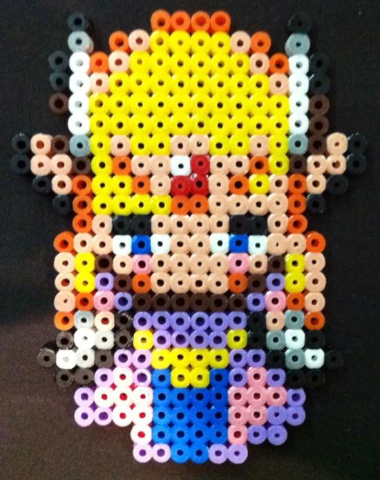 Hama Beads Princesa Zelda