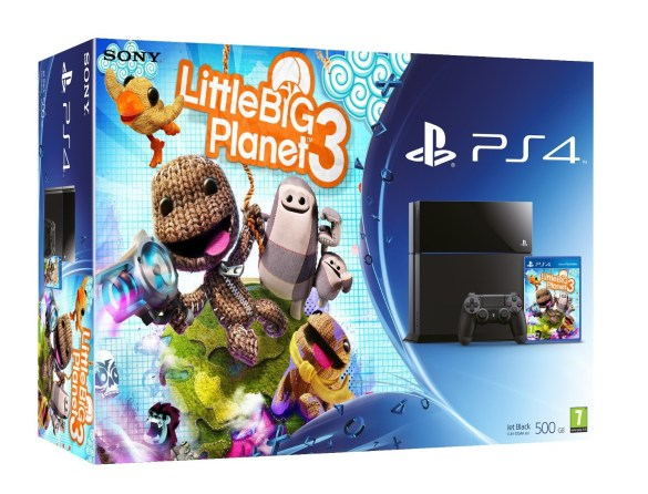 Pack Little Big Planet y PS4