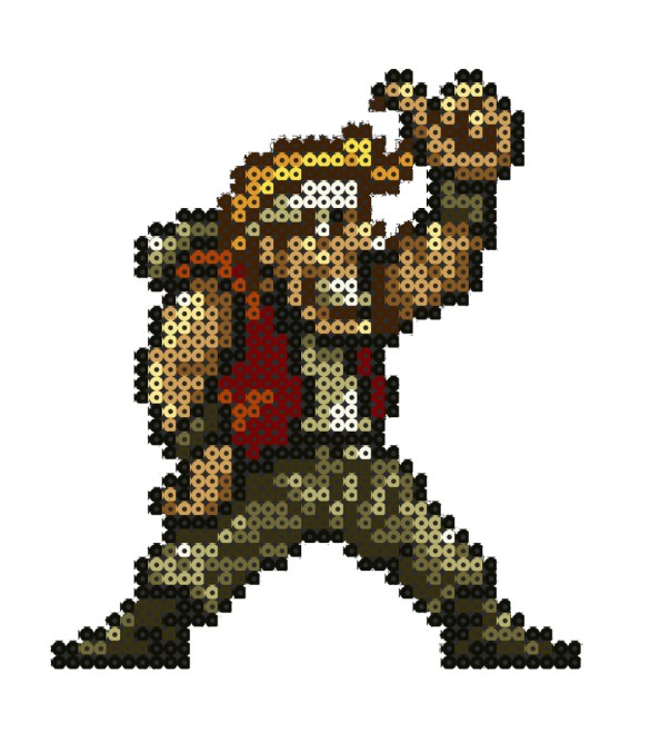 Hama Beads Metal Slug 3