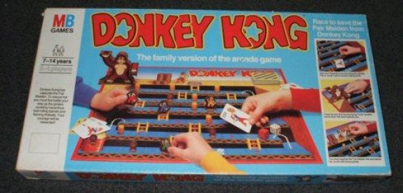 Juego de Mesa Donkey Kong