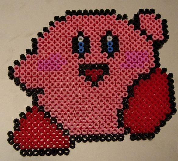 Kirby Hama Beads 6