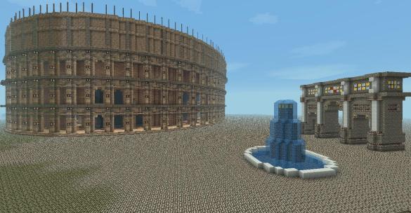 Coliseo Minecraft