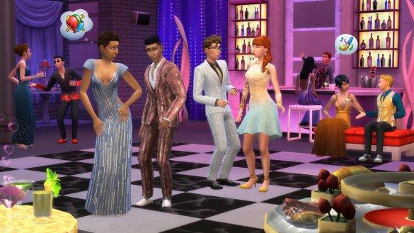 Los Sims 4 Fiesta Glamurosa