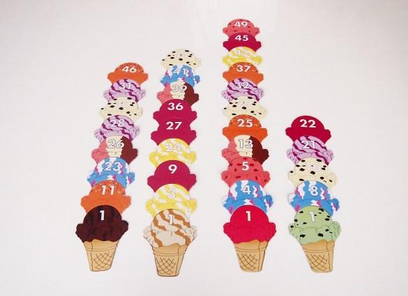 Mucho Cucurucho llena las mesas de colorido con deliciosos helados.