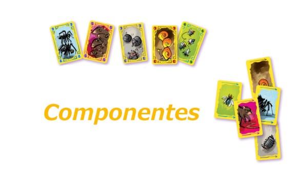 Domadores de Bichos juego de cartas