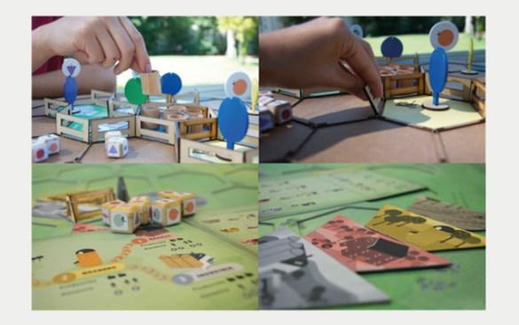 Granjeros juego de mesa