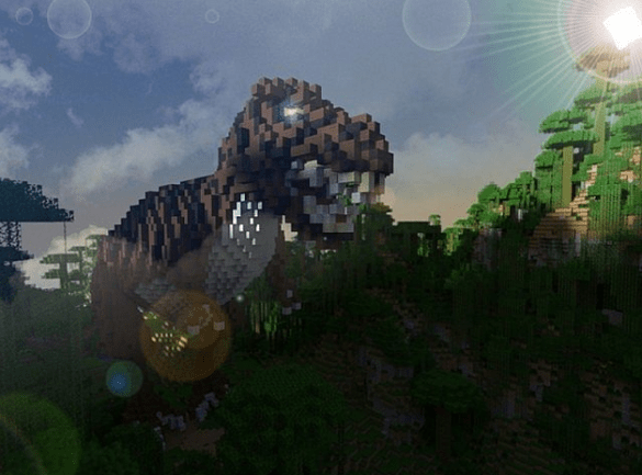 Jurassic World Minecraft T-rEX