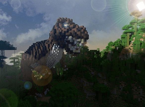 Jurassic World Minecraft T-rEX