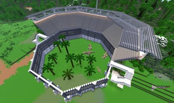 Jurassic World Minecraft