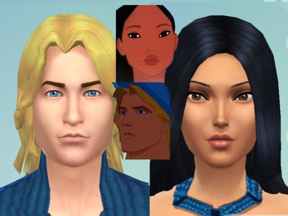 Los Sims 4 Mulan y Jhon