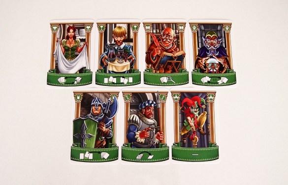 Cada carta cuenta con una acción, que se pondrá en juego en el momento de jugarse.