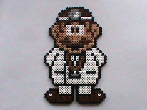 Hama Beads Dr.Mario