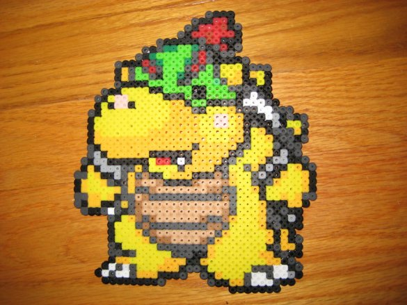 Hama Bead Bowser Jr