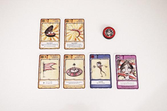 La moneda no solo se utiliza para tratar de conseguir la victoria con los nuevos ingredientes. También para obtener nuevas cartas, a modo de defensa en las batallas o en cartas especiales.