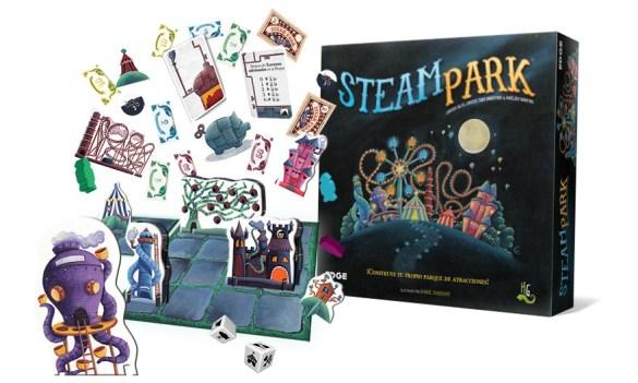 Steam Park juego de mesa