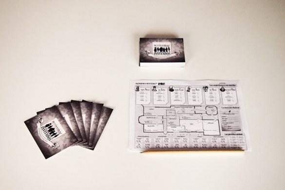 Tras seleccionar las cartas que conformarán la partida, se reparten seis a cada jugador.