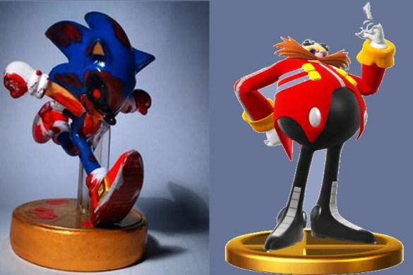 Amiibo Metal Sonic y Eggman