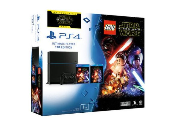 Pack PS4 LEGO Star Wars