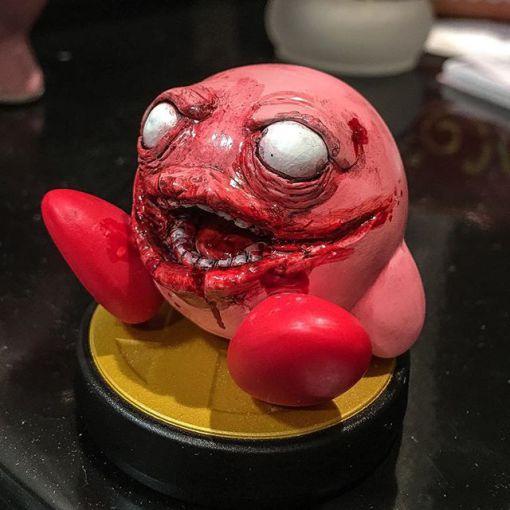 amiibo kirby zombie