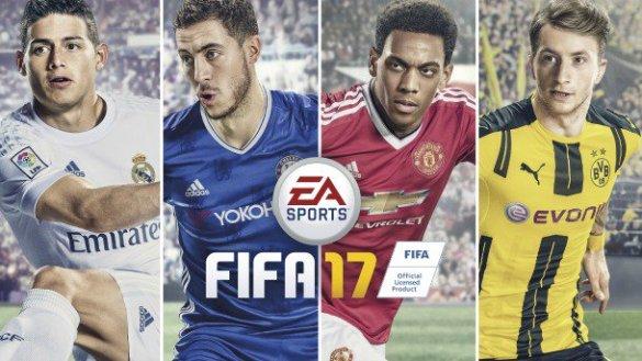 Portada FIFA 17
