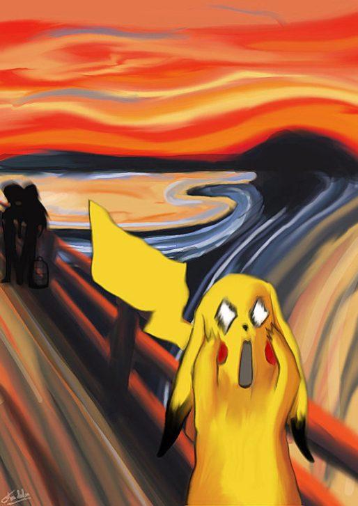 El grito Pikachu