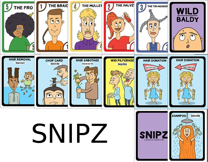 Snipz card game