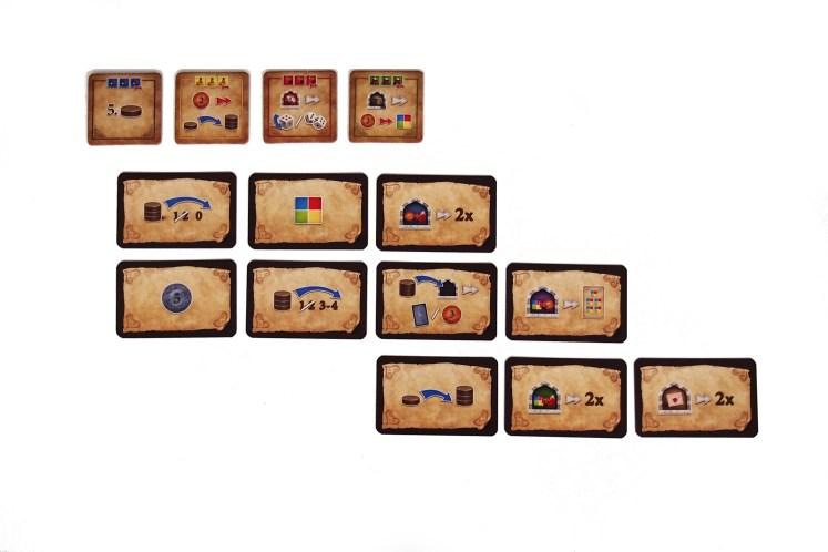 Tarjetas de mezquita y cartas de bonificación.