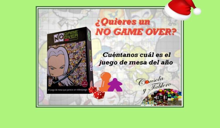 Sorteo No Game Over Los Mejores Juegos De Mesa 2016 Consola Y Tablero