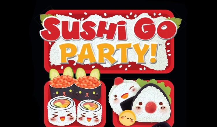 sushi go! y sushi go party!
