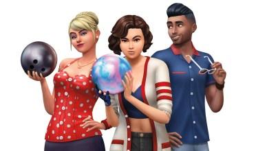 Los Sims 4 Noche de Bolos