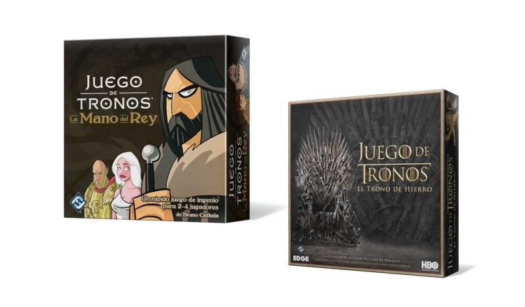 Edge Presenta Dos Nuevos Juegos De Mesa De Juego De Tronos Consola