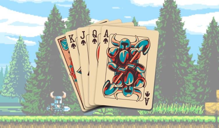 baraja de cartas shovel knight