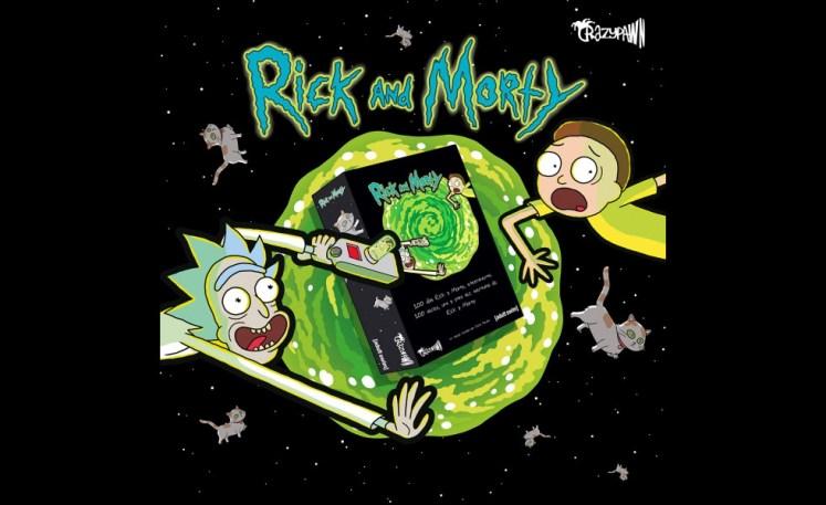 Rick and Morty juego de mesa
