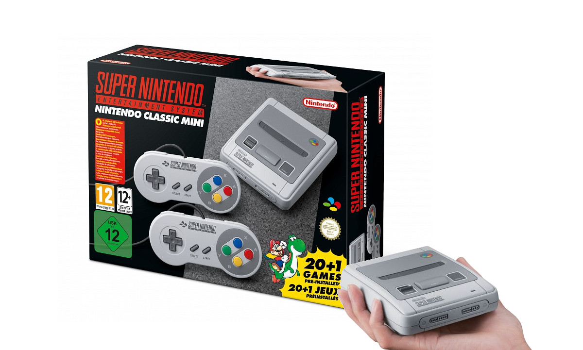 Anunciada Nintendo Classic Mini: Super Nintendo Entertainment System