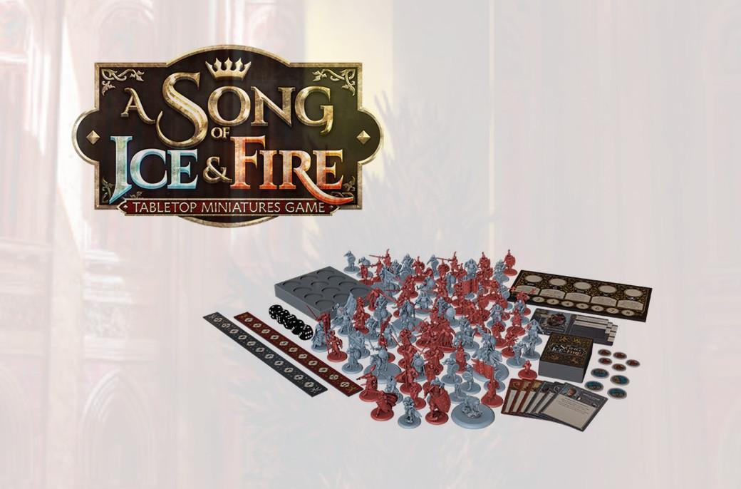 El juego de miniaturas A Song of Ice & Fire arrasa en Kickstarter