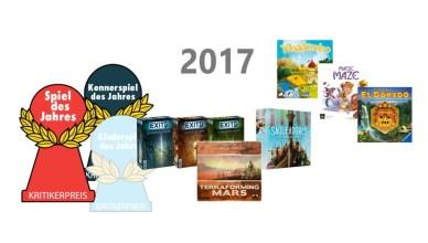 Spiel des Jahres 2017