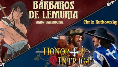 Barbaros de Lemuria y Honor + Intriga