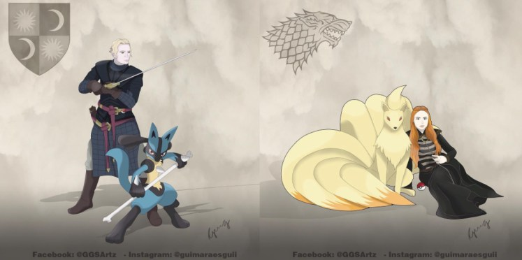 Juego de Tronos y Pokémon