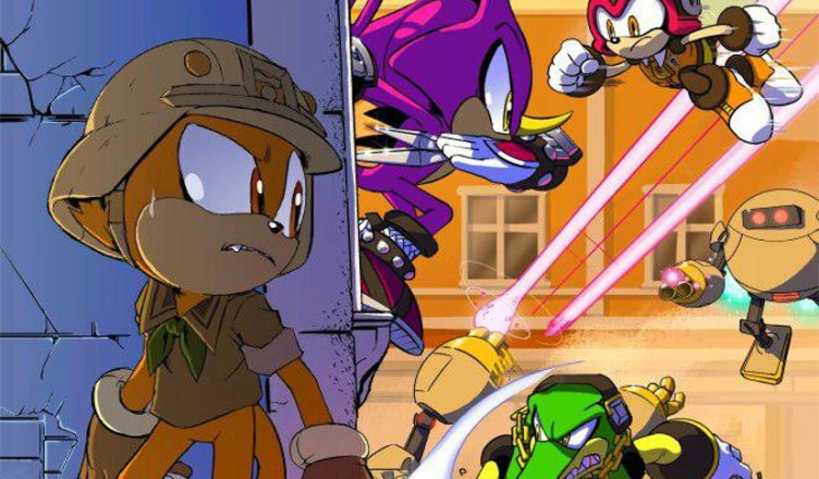 Sonic Forces cómic
