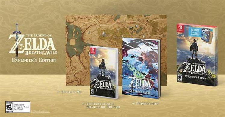 Breath of the Wild Explorer's Edition