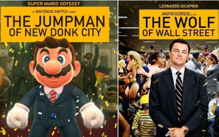 Super Mario El Lobo de Wall Street
