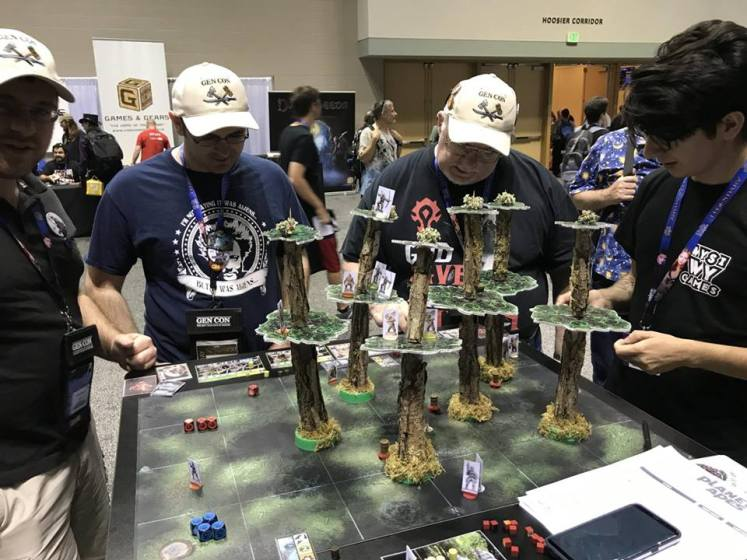Planet of the Apes: The Miniatures Boardgame
