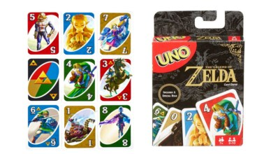 UNO The Legend of Zelda