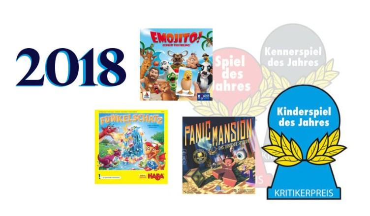 ganador Kinderspiel des Jahres 2018