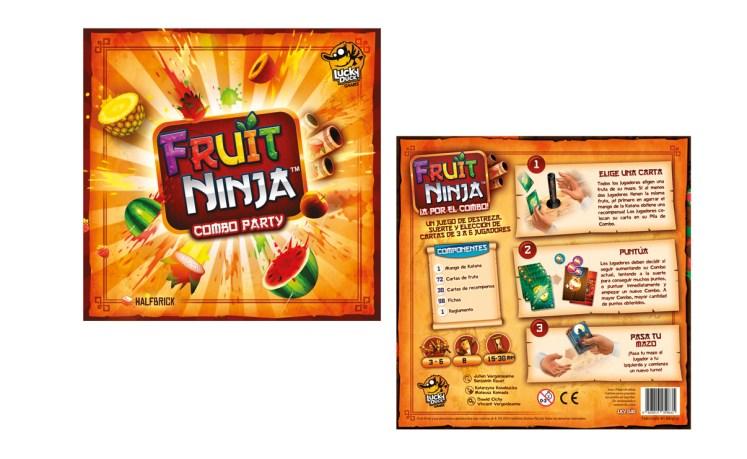 Fruit Ninja A por el combo