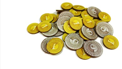 monedas juegos de mesa